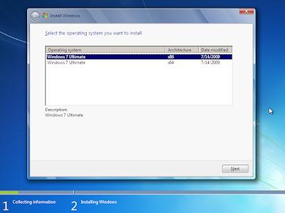 Cara Install dan Install Ulang Windows 7+ dengan Flashdisk 32
