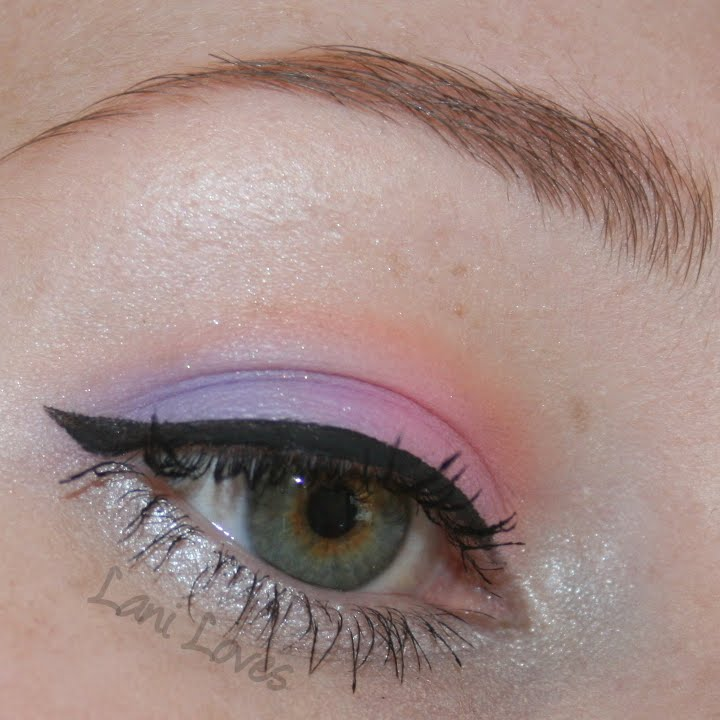 Tutorial: Bright Pastel Eyes with Lime Crime Palette D'Antoinette