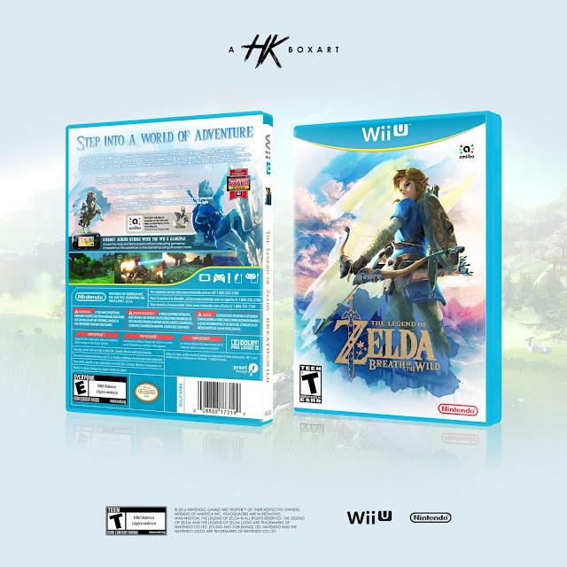 Capa The Legend Of Zelda Breath Of The Wild Wii U