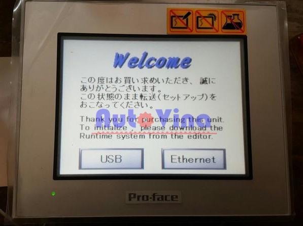Nhập khẩu và phân phối màn hình cảm ứng HMI Pro-face GP4301TW tại Việt Nam