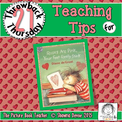 Roses are Pink Your Feet Really Stink by Diane deGroat TBT - Teaching Tips.
