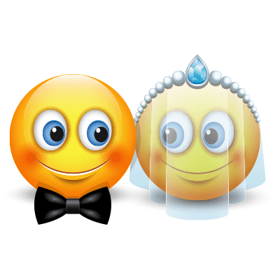 Wedding smileys