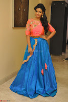 Nithya Shetty in Orange Choli at Kalamandir Foundation 7th anniversary Celebrations ~  Actress Galleries 050.JPG