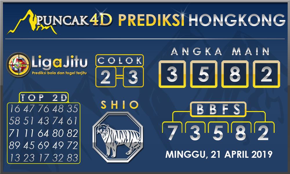 PREDIKSI TOGEL HONGKONG PUNCAK4D 21 APRIL 2019