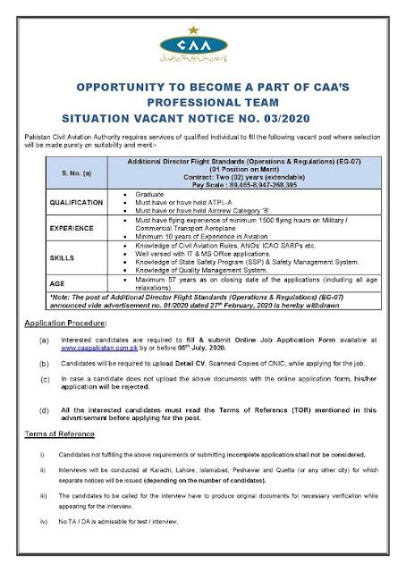 pakistan-civil-aviation-authority-pcca-jobs-2020-latest