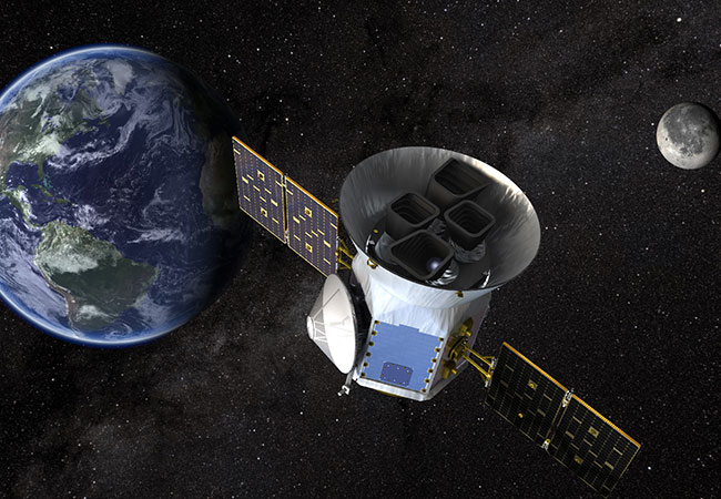Tinuku NASA's TESS spacecraft begins hunting for exoplanets