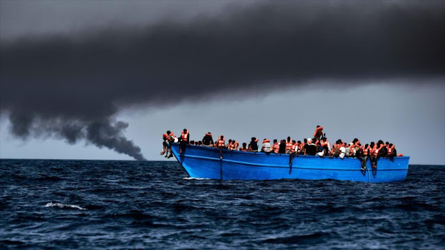 Italia rescata a unos 6000 migrantes en el mar Mediterráneo