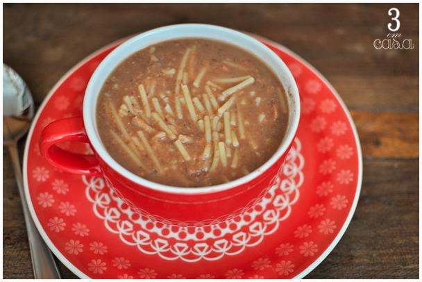 sopa de feijão receita passo a passo