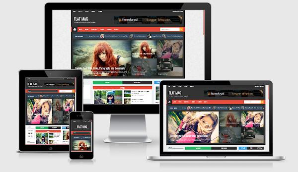 FlatMag Premium Template Free Download