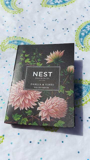 Nest Dahlia & Vines Eau de Parfum sample - www.modenmakeup.com