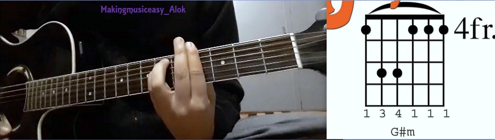 Shafqat Amanat Ali Fuzon Khamaj Mora Saiyaan Easy Guitar Chords