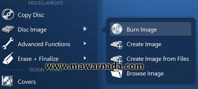 Cara Burn File ISO/Image