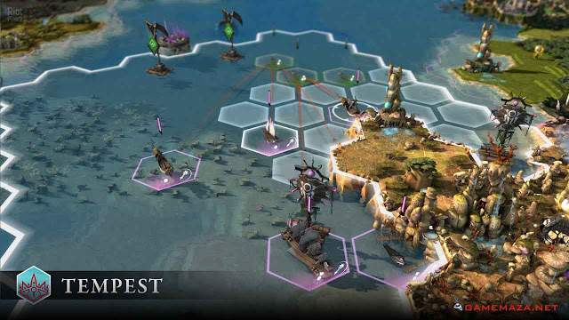 Endless Legend Tempest Gameplay Screenshot 1