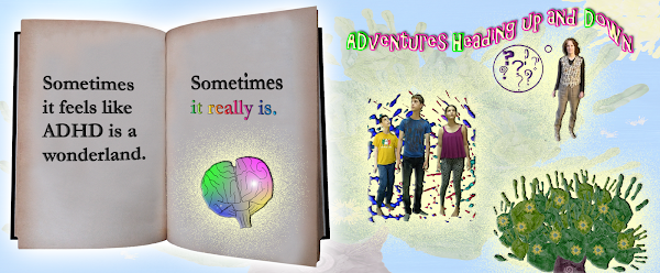 ADventures Heading up and Down: A Book with ADHD