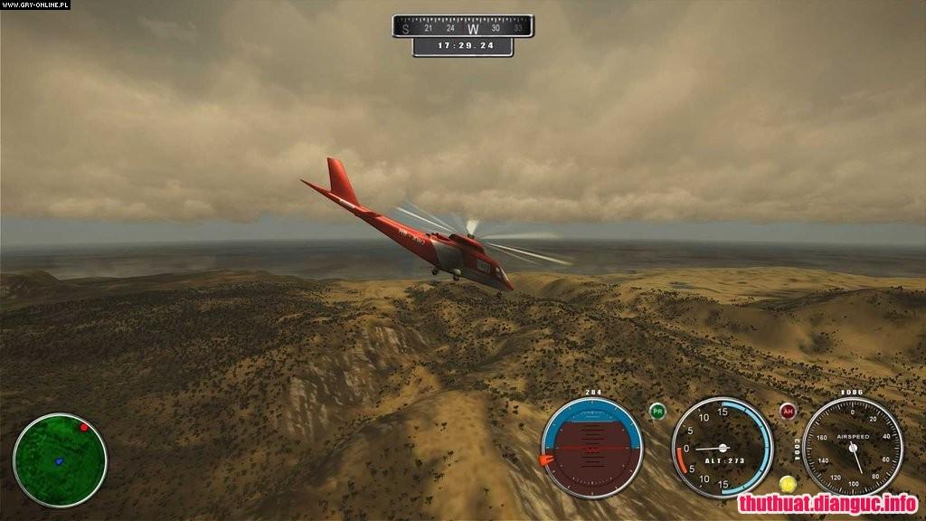 game mô phỏng lái trực thăng