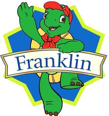 Dibujo de Franklin con su nombre