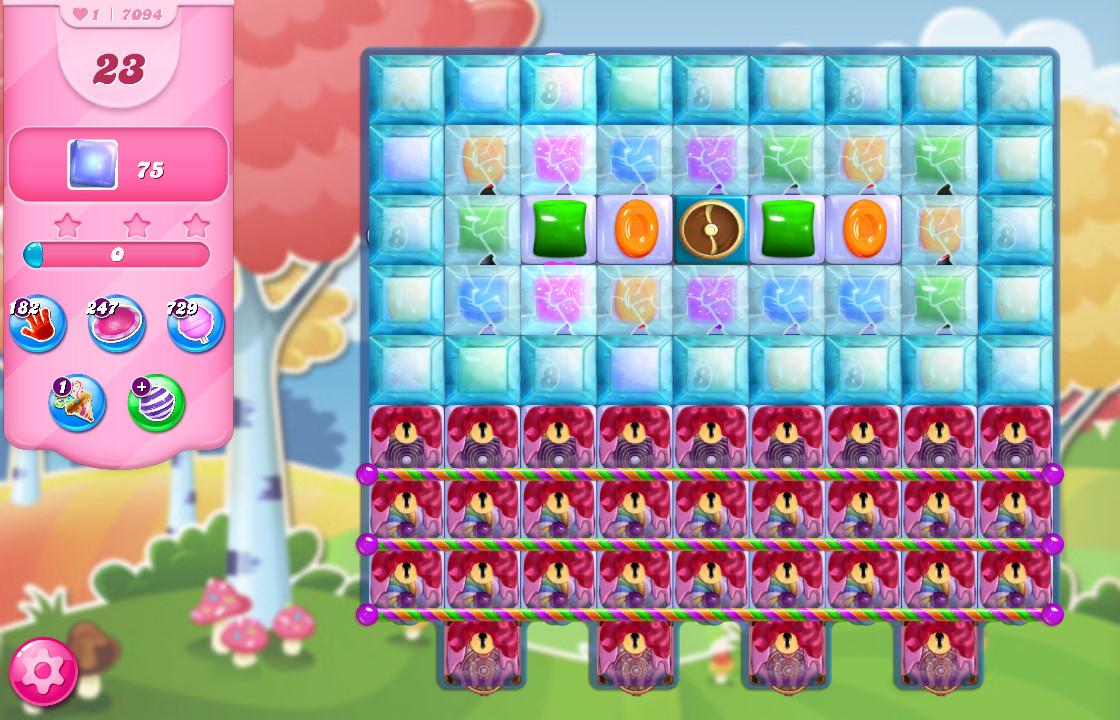 Candy Crush Saga level 7094