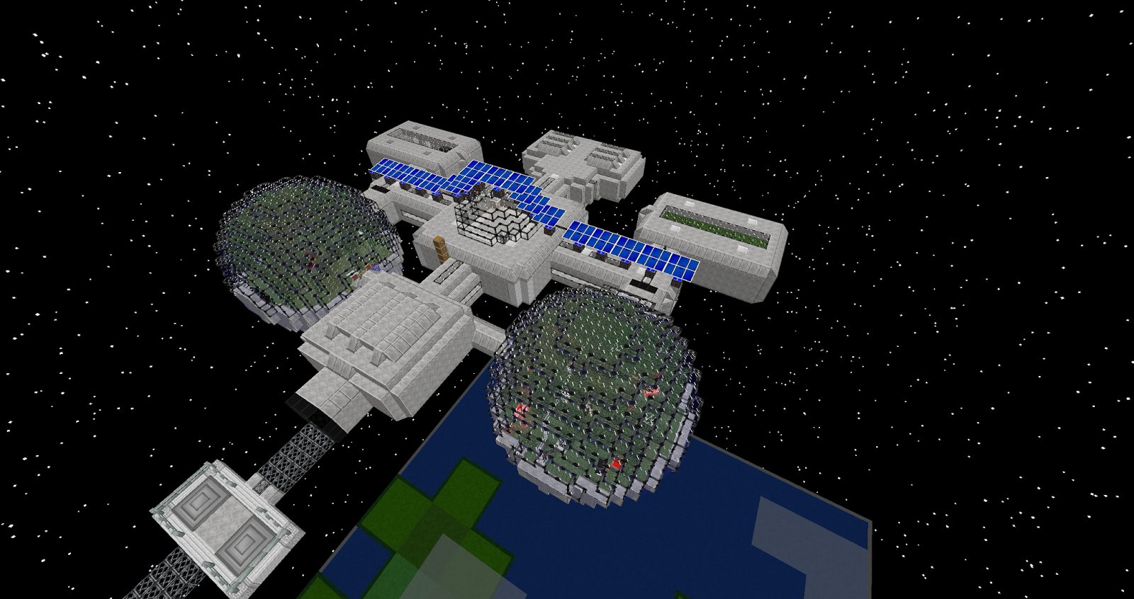 MonsterCWP's Blog: Modded Minecraft- Space Station