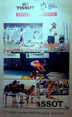 Perayaan ke-20 Kemitraan antara Tissot dan Asian Games
