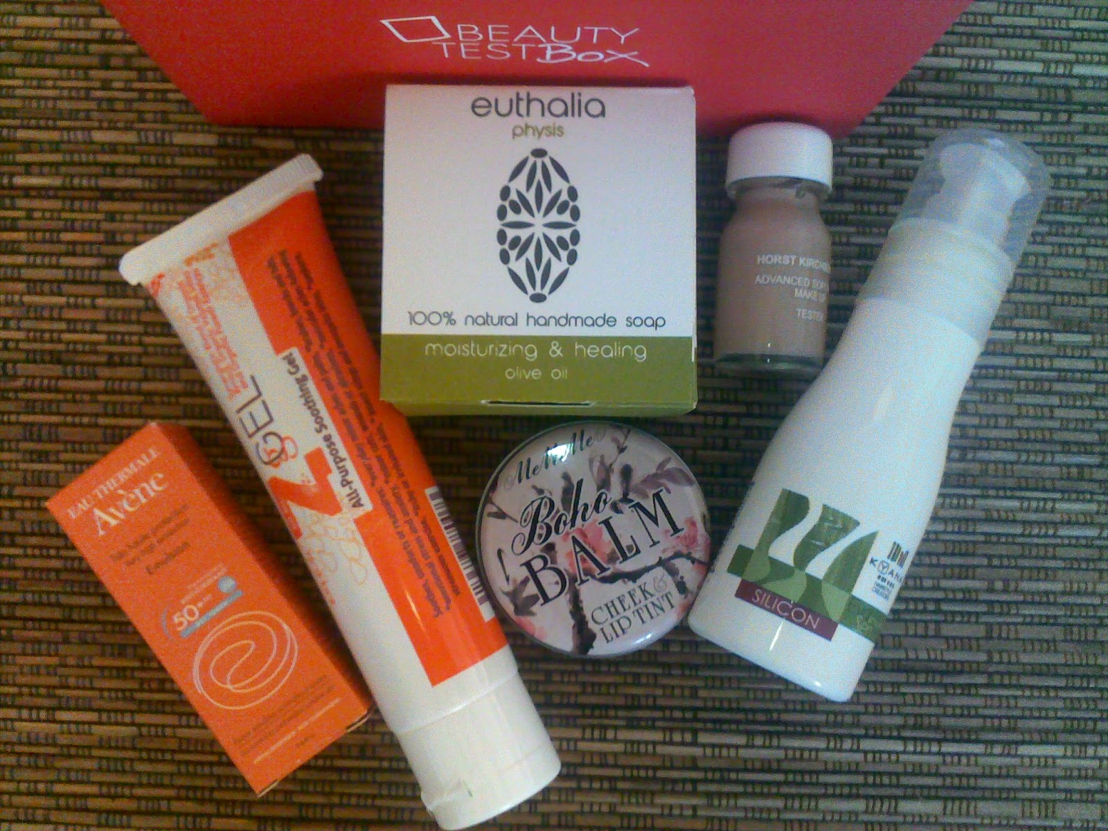 July Beautytestbox