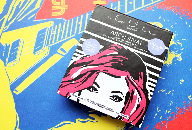 Lottie London Arch Rival Eyebrow Kit review