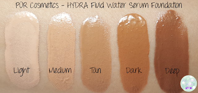 PÜR Cosmetics - HYDRA Fluid Water Serum Foundation | Kat Stays Polished