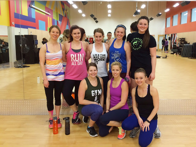 BodyPump with Friends