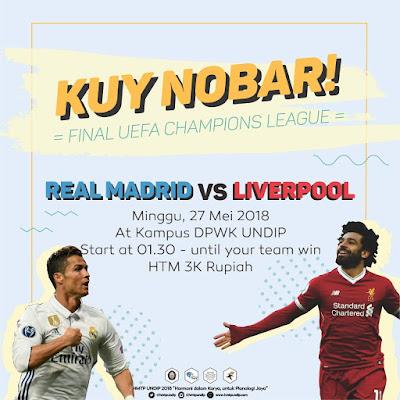 Kuy Nobar! Final UCL