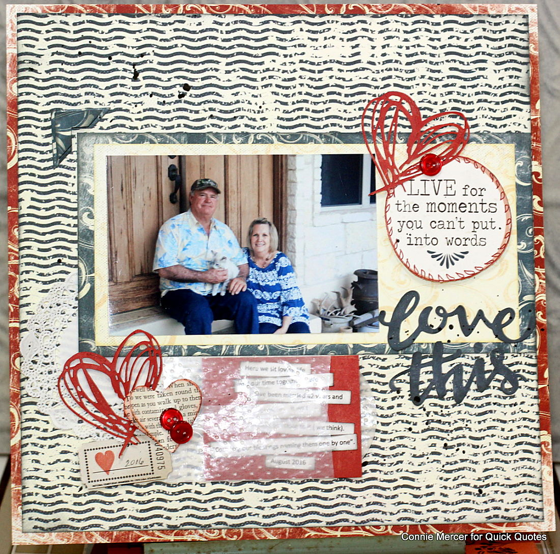 crafty goodies  friday challenge with quick quotes