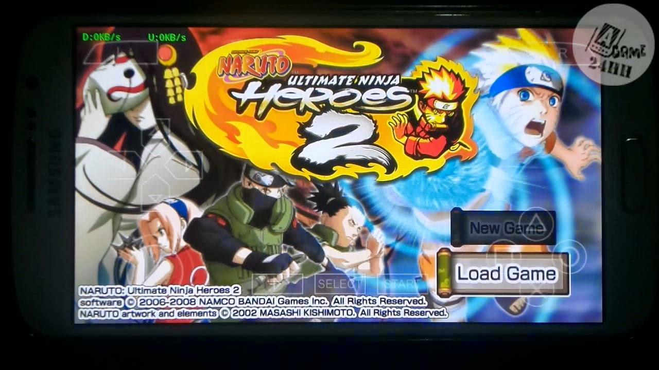 download naruto ultimate ninja 5 ppsspp android