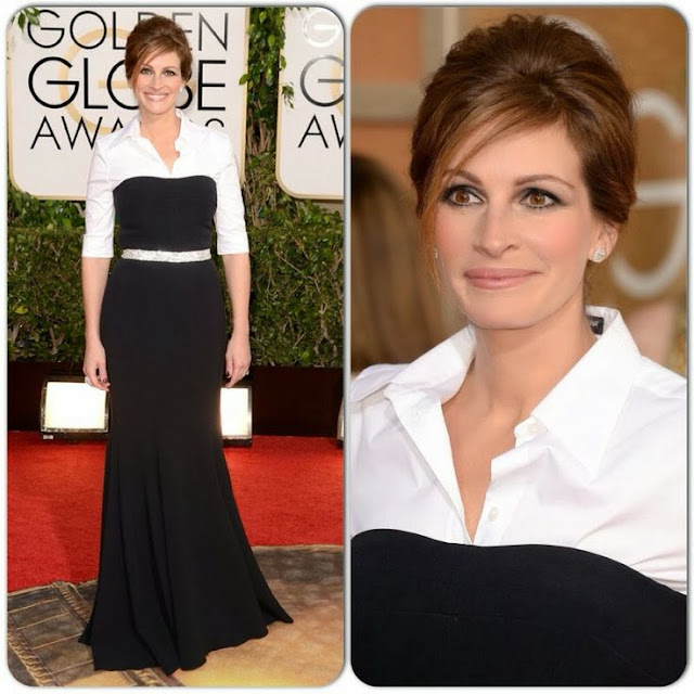 Julia Roberts in Dolce & Gabbana- 2014 Golden Globe Awards
