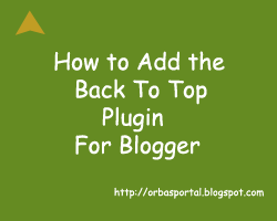 smooth scrolling widget for blogger