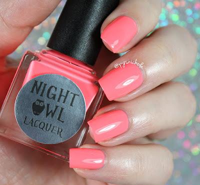 Night Owl Lacquer Inspire | Light & Bright Neon Creams