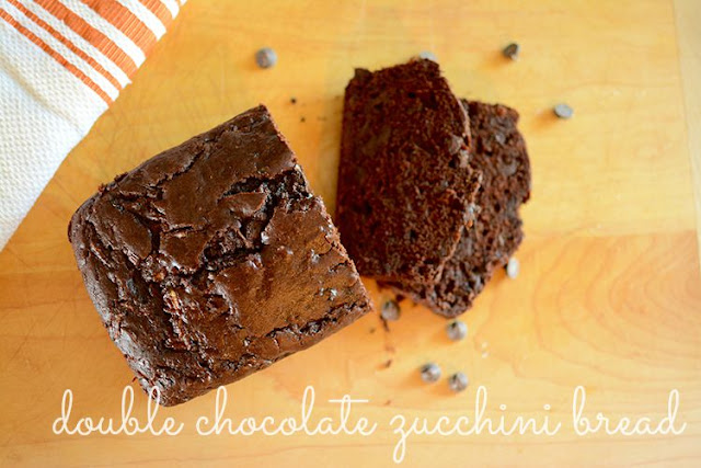 double chocolate zucchini bread | My Darling Days