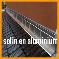 solin en aluminium