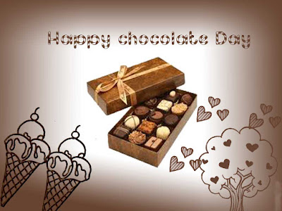Advance Happy Chocolate Day Whatsapp DP