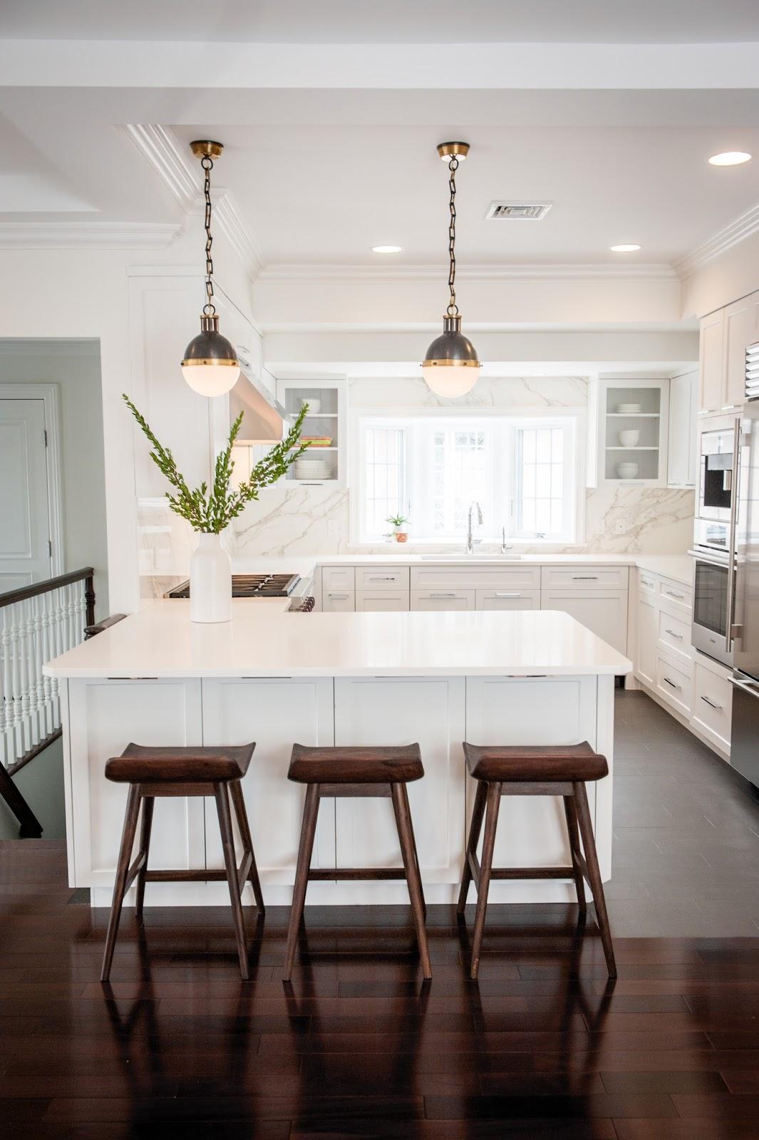 Modern Classic Kitchen anna's modern classic kitchen remodel | brooklyn limestone