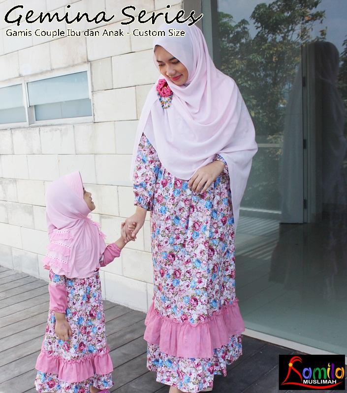 Baju Seragam Couple Keluarga Pernikahan Pesta Model Seragam Gamis