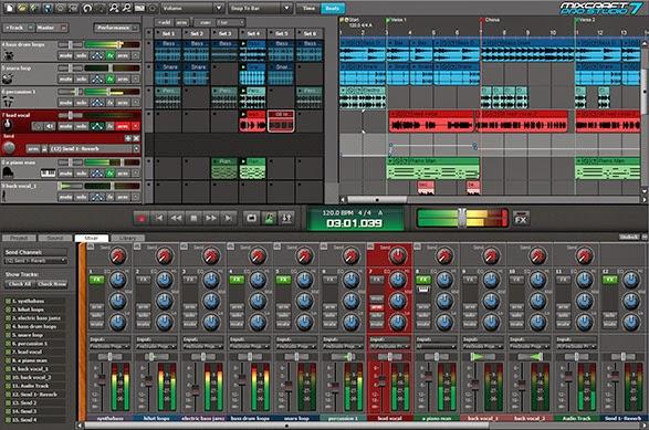 تحميل برنامج mixcraft 8 مجانا