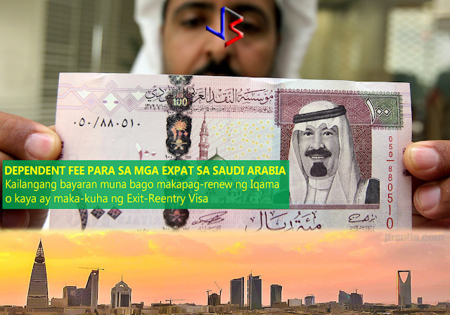 July 1, 2017 - Saudi Arabia has started to collect the much-talked about Dependent's Fee from the huge number of expatriates in the kingdom. Announced during last year's budget proposal, the Dependent's Levy is a part of the kingdom's plan to diversify its source of income which comes mainly from petroleum products as the price of oil remains low. As part of the government's Fiscal Balance Program, expatriate workers are expected to pay SR1,200 for one year for each of his dependents in the kingdom.  Up until Sunday morning, there was no clear indication as to the implementation of the proposal except that the fees will be collected at the time of the iqama renewal - the residency document for expatriates.  In the later hours of Sunday however, expats who wanted to pay the exit-reentry visa fee for their family members were prompted by the online payment system to first clear the dependent fee for the remaining months of the validity of their iqamas (residence permits). Online transactions started displaying complete and accurately calculated amount of dependent fee based on the validity of the expat's iqama and his number of dependents.  This observation was seen in online transactions of Saudi-American Bank as well as other banks in the kingdom. However, not all banks are currently reflecting the fees in the payment options, including Al Rajhi Bank. A video is also shown below (in English and Indian language).  Today, it emerged clearly that the payment of dependent fee is not only directly linked with the renewal of iqama but also the issuance of exit-reentry visa, whichever comes first.  The exit-reentry process can be done against single individual dependent by paying the fee up to the date of the validity of iqama. However, for the renewal of iqama it is mandatory to settle the amount for all dependents. What remians unclear now is if the fee is limited to the commercial sector and if expatriates working in the government sector are included as well.  All depe