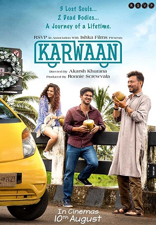 Karwaan 2018 Hindi 300MB HDRip 480p