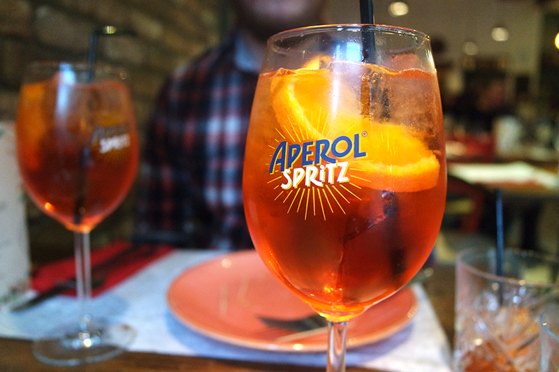 Italian Summer Cocktail Aperol Spritz
