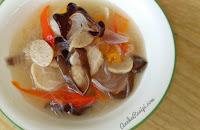 Sup Cendawan, Bebola Ikan Dan Suhun
