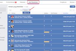 Cara Menghapus Semua Postingan Fanspage Facebook
