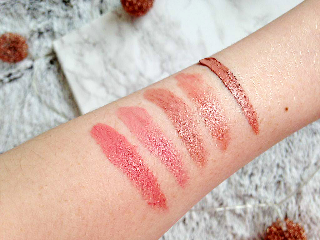 My Current Favourite Nude Lipstick Swatches