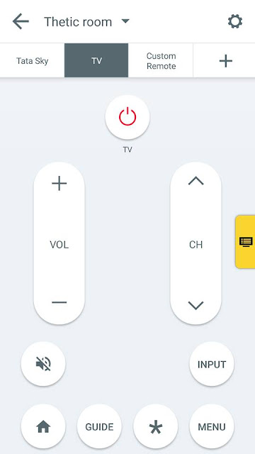 how to control your tv or any other electronic device using your android smartphone step 3