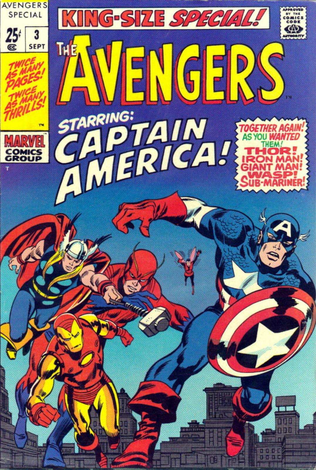 Mini cartoon avengers
