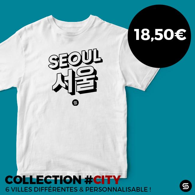 tshirt coréen séoul