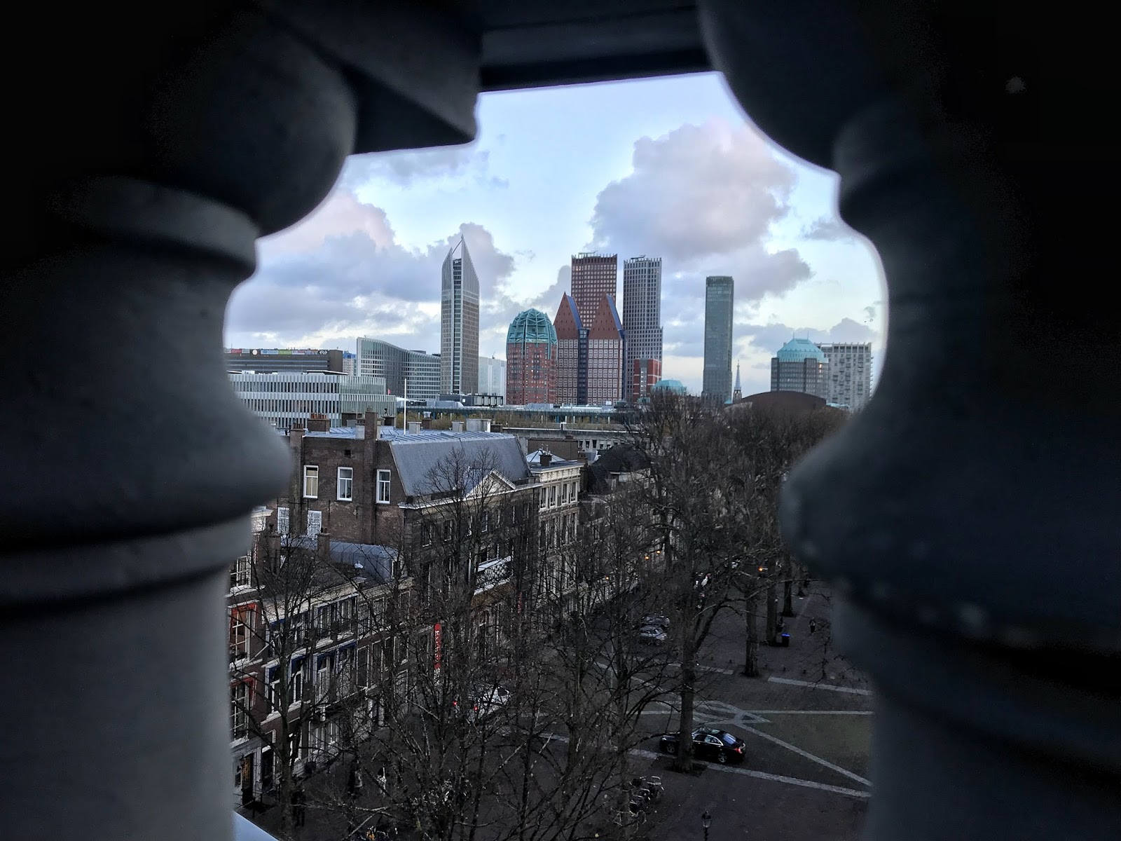 Views from the Palace Suite Hotel Des Indes Netherlands