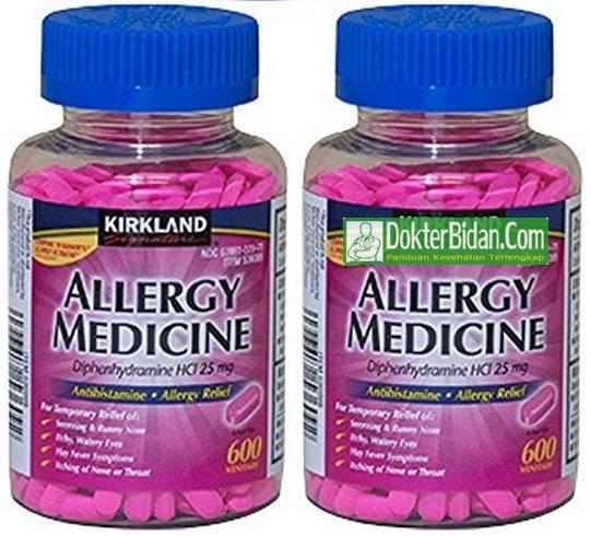 Diphenhydramine Obat Alergi - Peringatan Indikasi Dosis dan Efek Sampingnya Bagi Kesehatan Kulit